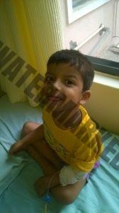 Ranjana Kumar son Daivik