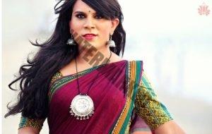 transgender wearing red lotus brand sair
