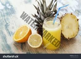 Lemon and Pineapple Juice
