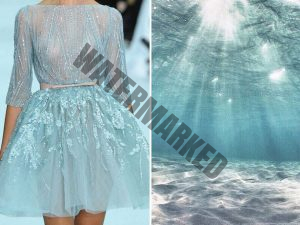the natural world with dress designs.10