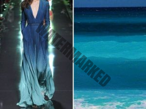 the natural world with dress designs.13
