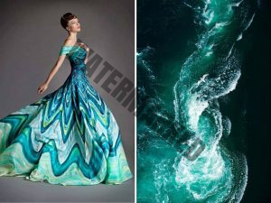 the natural world with dress designs.18