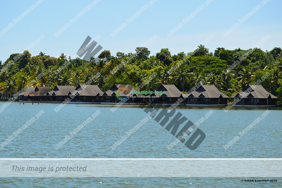 Club Mahindra, Ashtamudi--Floating Cottages.