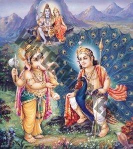 kartikeya-and-ganesha